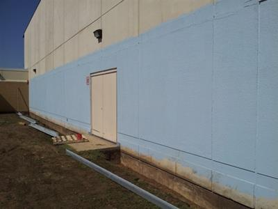 Stoughton High School Wall Repair