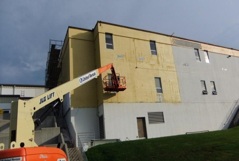 Barneveld Hs Building Envelope Rehabilitation Gt Facility